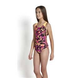 ALLOVER SPLACHBACK BLACK-EXSTATIC-PAPAYA  8-07386A393