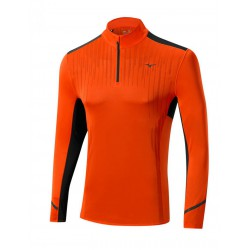 DRYLITE PREM 1-2 ZIP ORANGE-BLACK J2GA55113