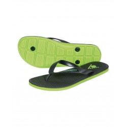 CHANCLA HAWAI ASSO BLACK-GREEN 105186