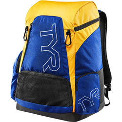 TYR ALLIANCE 45L BACKPACK ROYAL-GOLD LATBP45470