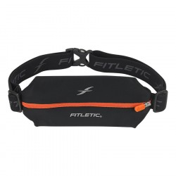 CINTURON FITLETIC LYCRA MINI SPORTS BELT NEGR-NRJ MSB01-03