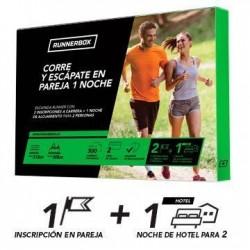 RUNNERBOX: CORRE Y ESCÁPATE EN PAREJA 1 NOCHE
