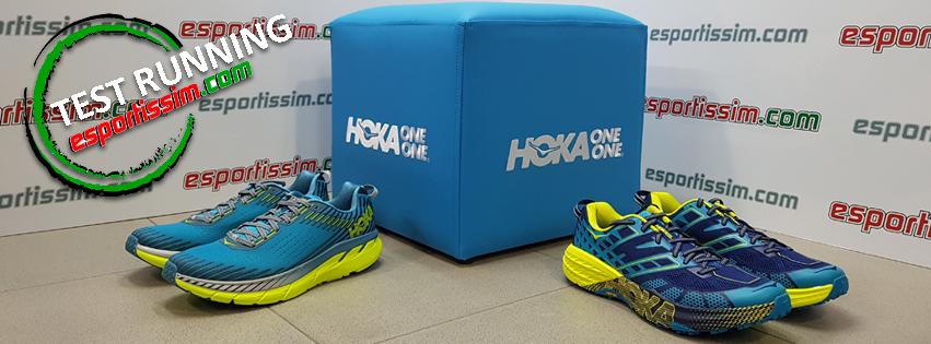 Test libre de la marca HOKA.