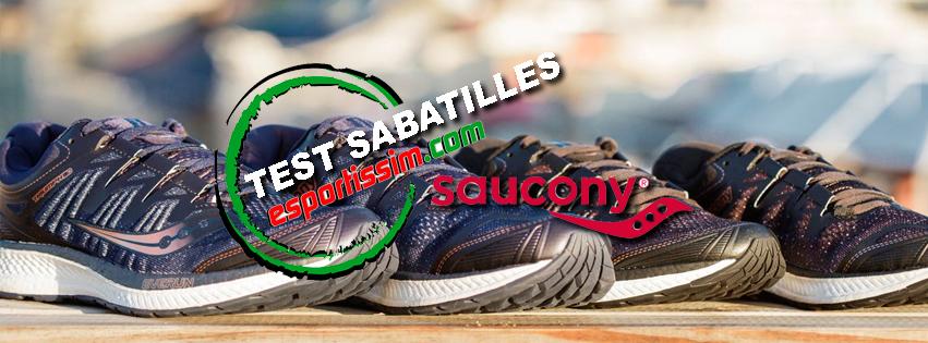 Test de la sabatilla Triumph de la marca Saucony.