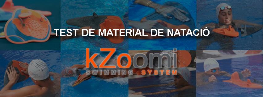 Test de material de natació