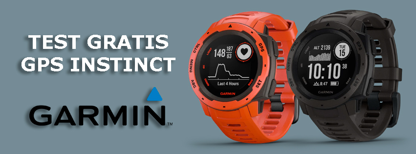 Test de garmin modelo Instinct