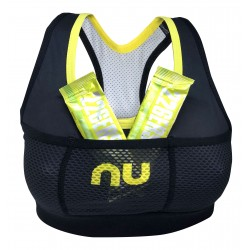 TOP NU LAPA BRA LADY BLACK-YELLOW