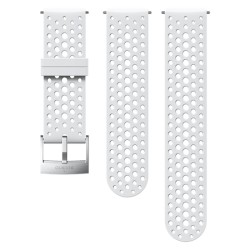SUUNTO 24MM ATHLETIC 1 SILICONE STRAP BLANCO-ACERO TALLA S+M SS050224000