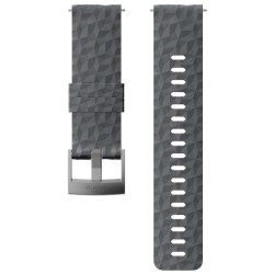 SUUNTO 24MM EXPLORE 1 SILICONE STRAP GRAPHITE-GRAY SS050222000