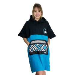 PONCHO WAVE HAWAII COTTON PONCHINAO COLLEGE WH4007