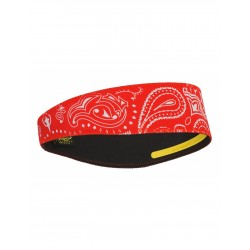 PAISLEY RED HALO II HEADBAND PULLOVER