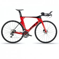 BH AEROLIGHT DISC 4.0 DI2 ROJO-NEGRO RS370