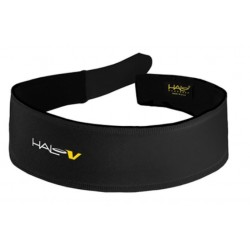 BLACK HALO V-VELCRO HEADBAND