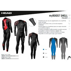 NEOPRENO HEAD MY BOOST SHELL W