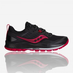 SAUCONY PREGRINE 10 W BLACK-BARBERRY S10556-20