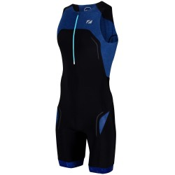 ZONE3 PERFORMANCE CULTURE TRISUIT-BLACK-GREY TS19MPCS103