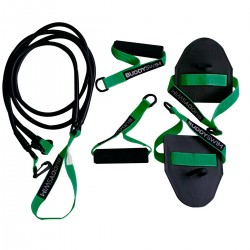 BUDDYSWIM SUPER STROKE DRYLAND CORDS 2.0 X-LIGHT (VERDE)