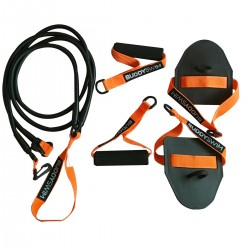 BUDDYSWIM SUPER STROKE DRYLAND CORDS 2.0 MEDIUM (NARANJA)