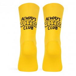 CALCETINES PACIFIC COFFEE CLUB YELLOW