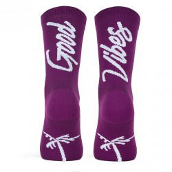 CALCETINES PACIFIC GOOD VIBES AUBERGINE