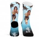 CALCETINES PACIFIC HULA GIRL (BLUE)