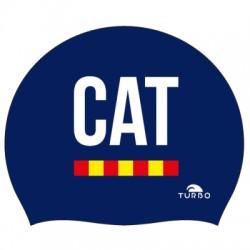 GORRO SILICONA SUEDE CAT 0007-MARINO 9701986
