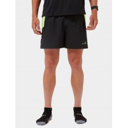 MEN'S TECH CARGO SHORT BLACK-FLUO GREEN 00544500154