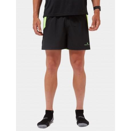 MEN'S TECH CARGO SHORT BLACK-FLUO GREEN 00544500154