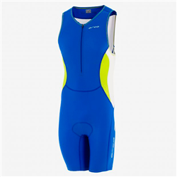 CORE RACE SUIT ROYAL BLUE/LIME DVC070