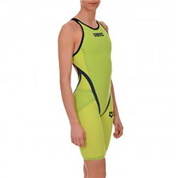 BAÑADOR 1P WOMAN PWSK CARBON FLEX FBSLO WCE '15 FLUO GREEN-STEEL GREY 1A65365