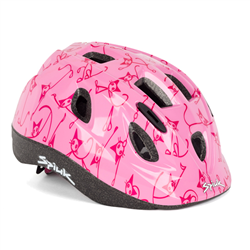 CASCO KIDS CATS ROSA  CSKICASM