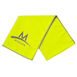 ENDURACOOL MISSION LARGE TECHKNIT HIGH VIS GREEN 107168IN