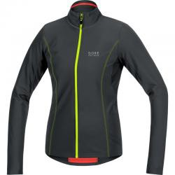 ELEMENT LADY THERMO JERSEY BLACK-NEON YELLOW SELETL9908