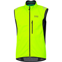 ELEMENT WINDSTOPPER SOFT SHELL VEST NEON YELLOW-BLACK VWSELM0899
