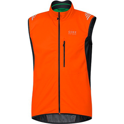 ELEMENT WINDSTOPPER SOFT SHELL VESTBLAZE ORENGE-BLACK VWSELM2699