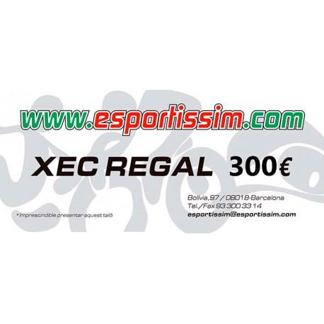 XEC REGAL DE 300 EUROS