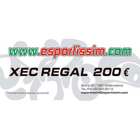 XEC REGAL DE 200 EUROS