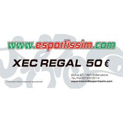 XEC REGAL DE 50 EUROS