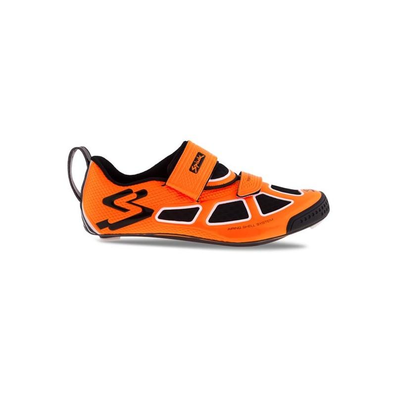 Spiuk Carbon Triathlon Naranja Av Blanco Negro Trivium Zapatilla SpMqVUz