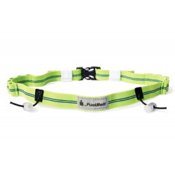 GEL READY RACE NUMBER BELT BLUE-GREEN