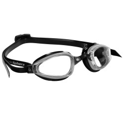 K180 MP SILVER-BLACK CLEAR LENS 173000