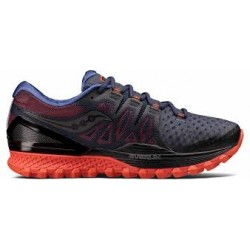 SAUCONY XODUS ISO 2 BLACK-ORANGE S20387-1