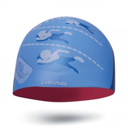 HEAD CAP SILICONE 455180 BLUE