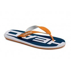 SLIPPER REBEL MAN AZUL-NARANJA