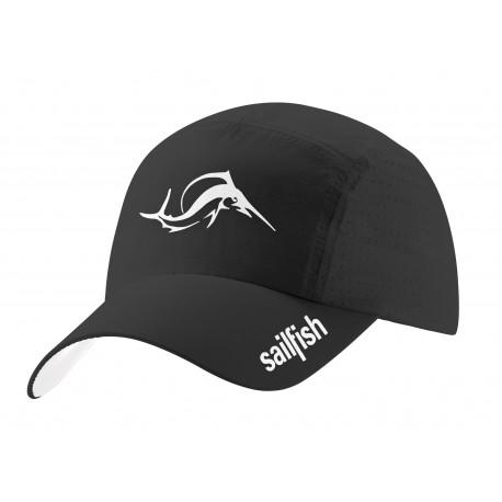 SAILFISH RUNNING CAP BLACK 2484