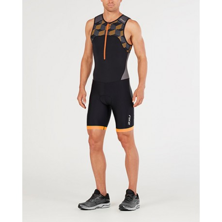 ACTIVE TRISUIT BLACK-RETRO FLAME ORANGE MT4862D