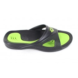 SANDALIAS POOL HYDROFIT MAN HOOK BLACK-BLACK-GREEN 080706 056