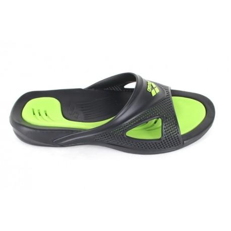 SANDALIAS POOL HYDROFIT MAN HOOK BLACK-BLACK-GREEN 080706 056