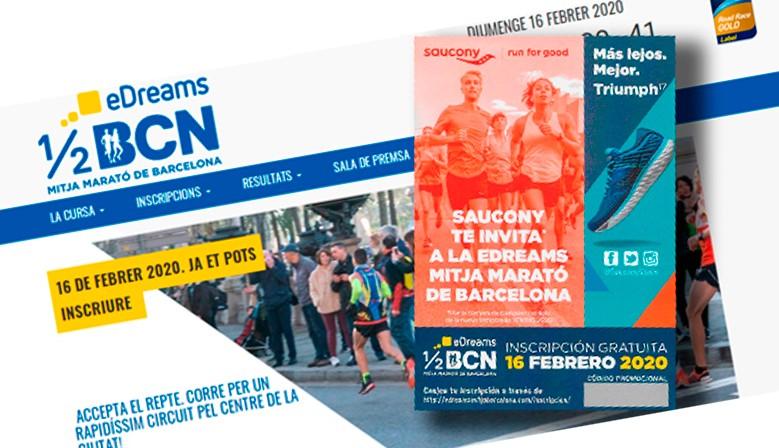 Quieres correr la media maratón de Barcelona 2020